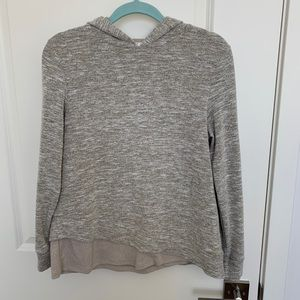 THML lightweight hooded sweater, size small